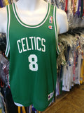 Vintage #8 ANTOINE WALKER Boston Celtics NBA Champion Jersey 18-20