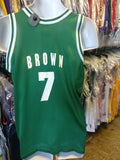 "Vtg #7 DeCOVAN KADELL ""DEE"" BROWN Boston Celtics Champion Jersey 18-20"