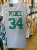 Vintage #34 PAUL PIERCE Boston Celtics NBA Gray Nike Jersey M