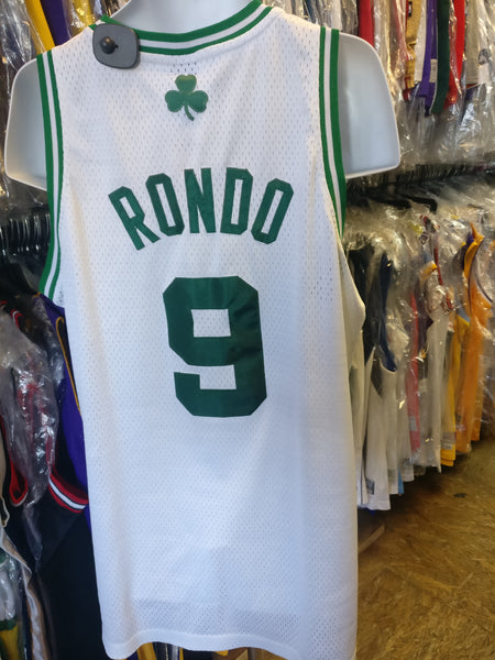 Vintage #9 RAJON RONDO Boston Celtics NBA Adidas Authentic Jersey L
