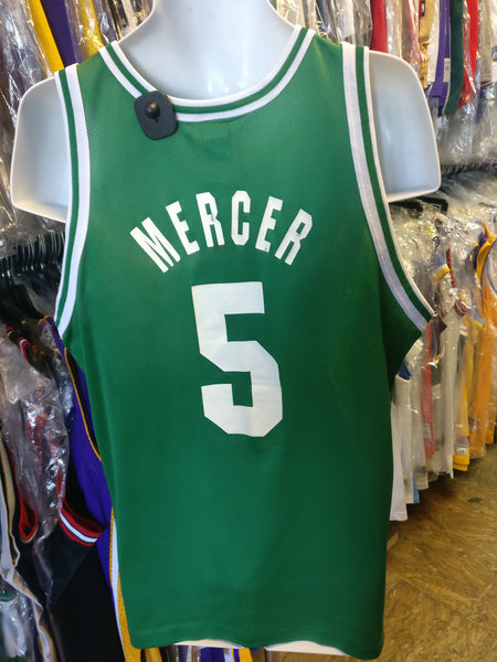 Vintage #5 RON MERCER Boston Celtics NBA Champion Jersey 44