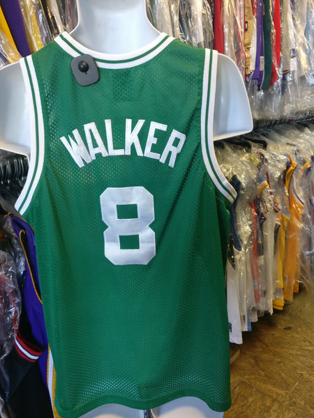 Vintage #8 ANTOINE WALKER Boston Celtics NBA Nike Jersey YXL