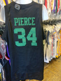 Vintage #34 PAUL PIERCE Boston Celtics NBA Nike Black Jersey XXL