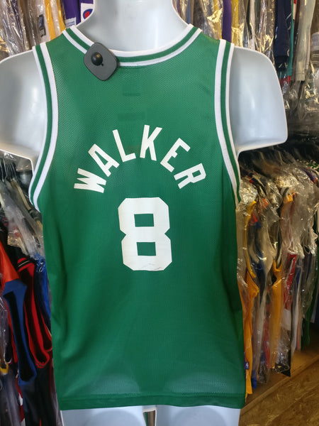 Vintage #8 ANTOINE WALKER Boston Celtics NBA Champion Jersey 14-16