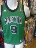 Vintage #9 RAJON RONDO Boston Celtics NBA Adidas Authentic Jersey YM