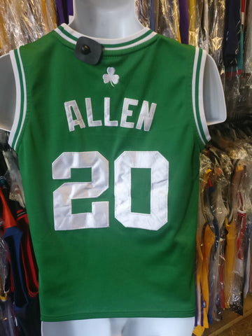 Vintage #20 RAY ALLEN Boston Celtics NBA Adidas Authentic Jersey YM