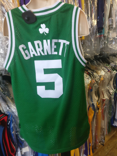 purchase cheap dc4f5 1ca01 Vintage #5 KEVIN GARNETT Boston Celtics NBA Adidas Authentic Jersey YS
