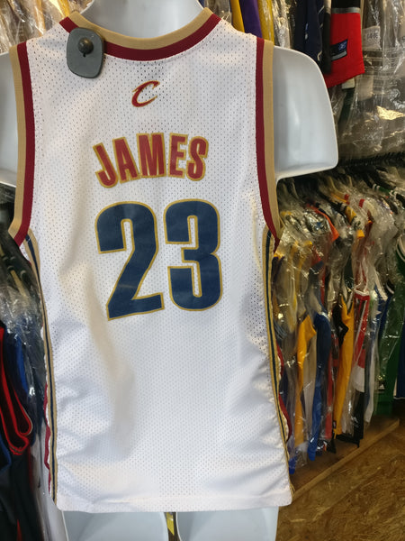 Vintage #23 LEBRON JAMES Cleveland Cavaliers NBA Nike Jersey YL