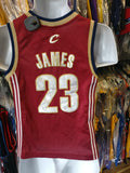 Vintage #23 LEBRON JAMES Cleveland Cavaliers NBA Nike Jersey YS