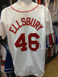 Vintage #46 JACOBY ELSBURY Boston Red Sox MLB Majestic Jersey M