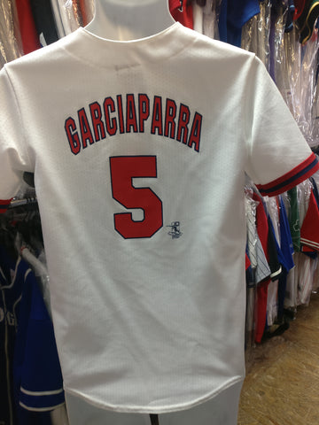 Vintage #5 NOMAR GARCIAPARRA Boston Red Sox MLB Majestic Jersey YL
