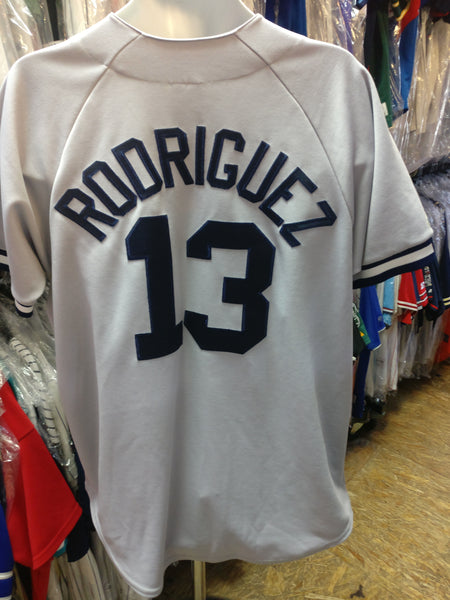 Vintage #13 ALEX RODRIGUEZ New York Yankees MLB Majestic Jersey L