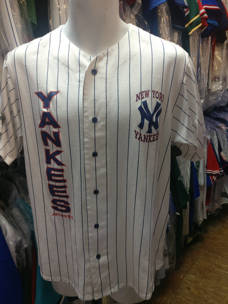 Vintage '92 NEW YORK YANKEES MLB Majestic Jersey M