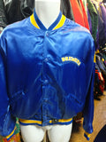 Vintage 80s MILWAUKEE BREWERS MLB Felco Nylon Jacket XL