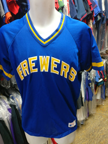 Vintage 80s MILWAUKEE BREWERS MLB Rawlings T-Shirt M (Deadstock)