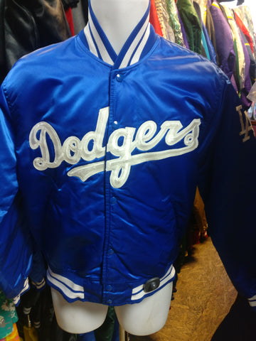 Vintage 90s LOS ANGELES DODGERS MLB Starter Nylon M (Mint)