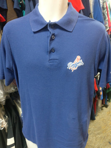 Vintage 90s LOS ANGELES DODGERS MLB Champion Polo Shirt L