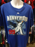 Vtg '09 #99 MANNYWOOD Los Angeles Dodgers MLB T-Shirt L (Deadstock)