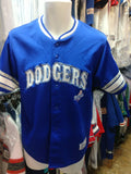 Vtg #5 NOMAR GARCIAPARRA Los Angeles Dodgers MLB True Fan Jersey YL