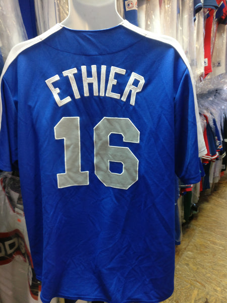 Vintage #16 ANDRE ETHIER Los Angeles Dodgers MLB Jersey XL