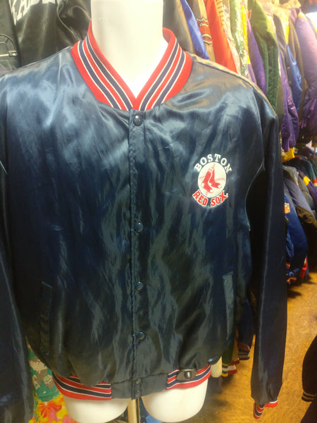 Vintage 90s BOSTON RED SOX MLB Swingster Nylon Jacket XL