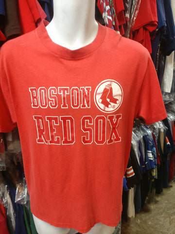 Vintage 80s BOSTON RED SOX MLB Touch of Gold T-Shirt L