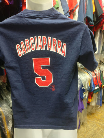 Vtg 2000s #5 NORMAR GARCIAPARRA Boston Red Sox MLB Majestic T-Shirt YM