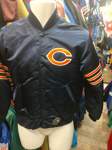Vintage 90s CHICAGO BEARS NFL Starter Nylon Jacket S (Mint)