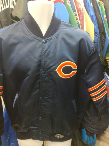 Vintage 90s CHICAGO BEARS NFL Starter Nylon Jacket L