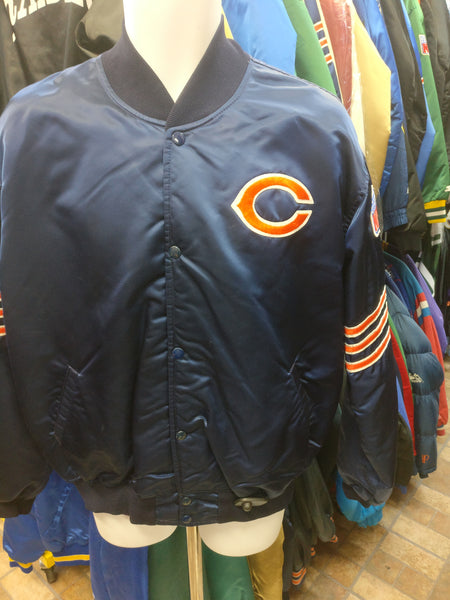 Vintage 90s CHICAGO BEARS NFL Starter Nylon Jacket XL