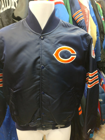 Vintage 90s CHICAGO BEARS NFL Starter Nylon Jacket M (Mint)