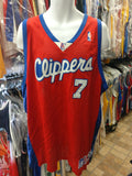 Vtg#7 LAMAR ODOM Los Angeles Clippers NBA Champion Authentic Jersey 56