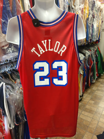 Vtg #23 MAURICE TAYLOR Los Angeles Clippers Champion Jersey 48 (Rare)