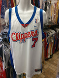 Vintage #7 LAMAR ODOM Los Angeles Clippers NBA Nike Jersey XL