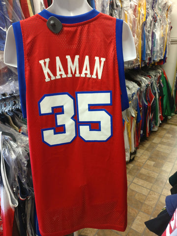 Vtg#35 CHRIS KAMAN Los Angeles Clippers NBA Adidas Authentic Jersey XL