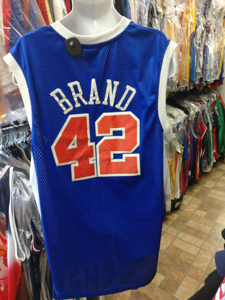 Vintage #42 ELTON BRAND L A Clippers NBA Reebok Authentic Jersey XL
