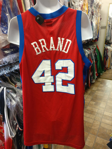 Vtg #42 ELTON BRAND Los Angeles Clippers NBA Nike Jersey XL