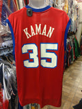 Vintage #35 CHRIS KAMAN Los Angeles Clippers NBA Reebok Jersey L