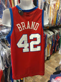 Vintage #42 ELTON BRAND Los Angeles Clippers NBA Nike Jersey L