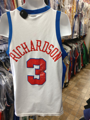 Vintage #3 QUENTIN RICHARDSON Los Angeles Clippers NBA Nike Jersey M