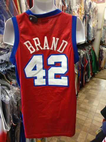 Vtg #42 ELTON BRAND Los Angeles Clippers NBA Adidas Authentic Jersey S