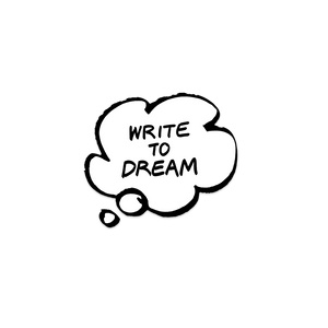 Write to Dream Sticker