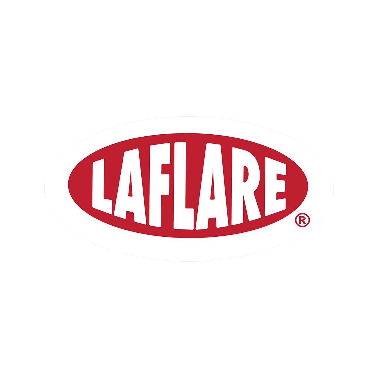 LaFlare Oval Sticker
