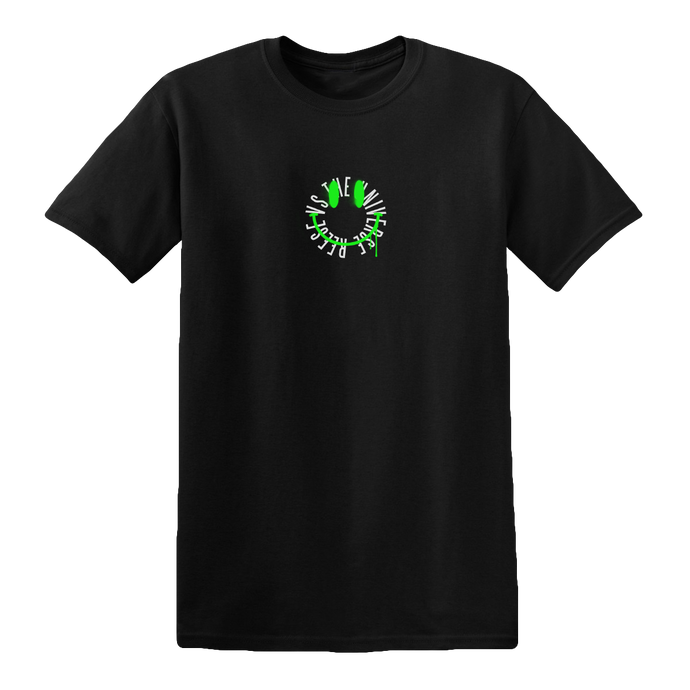 Smiley Face T-Shirt [Black]