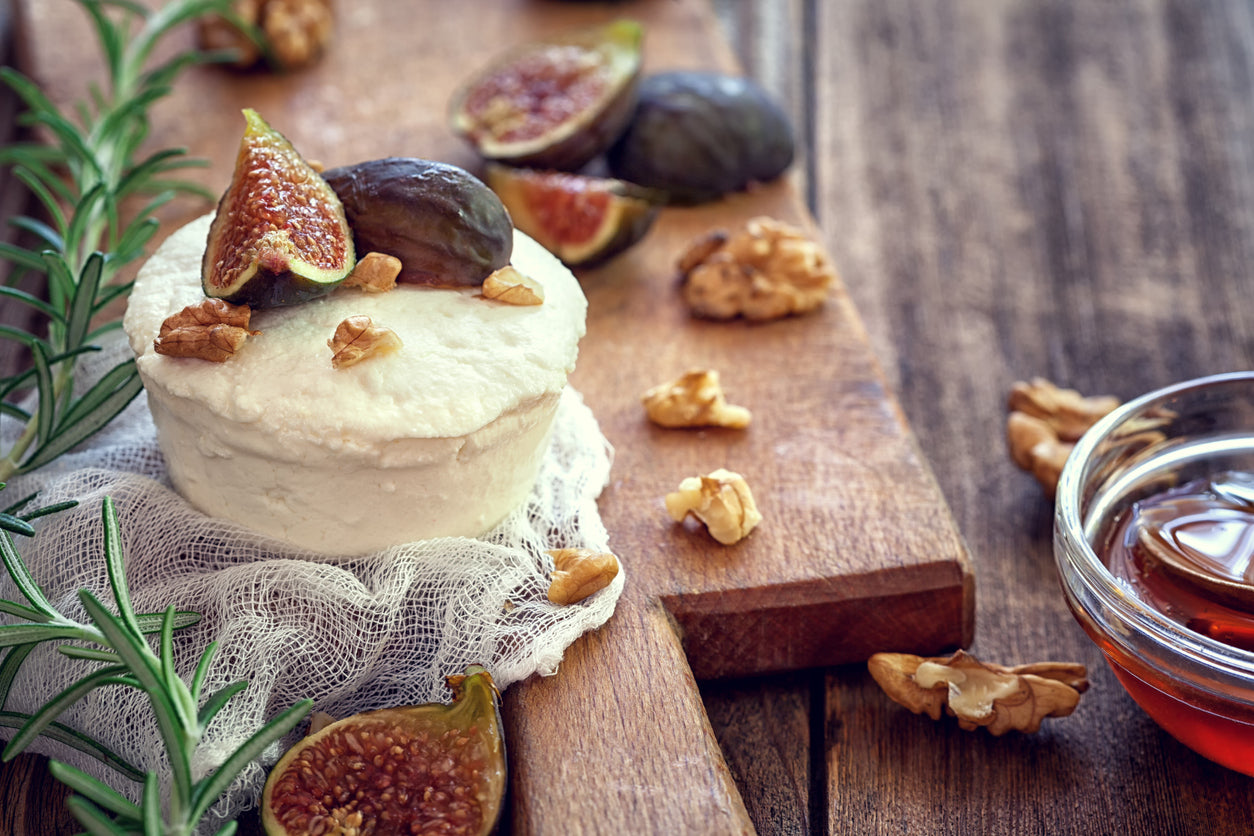 Fig, Date, & Prosciutto Dip with Goat Cheese, Pistachios & Mascarpone