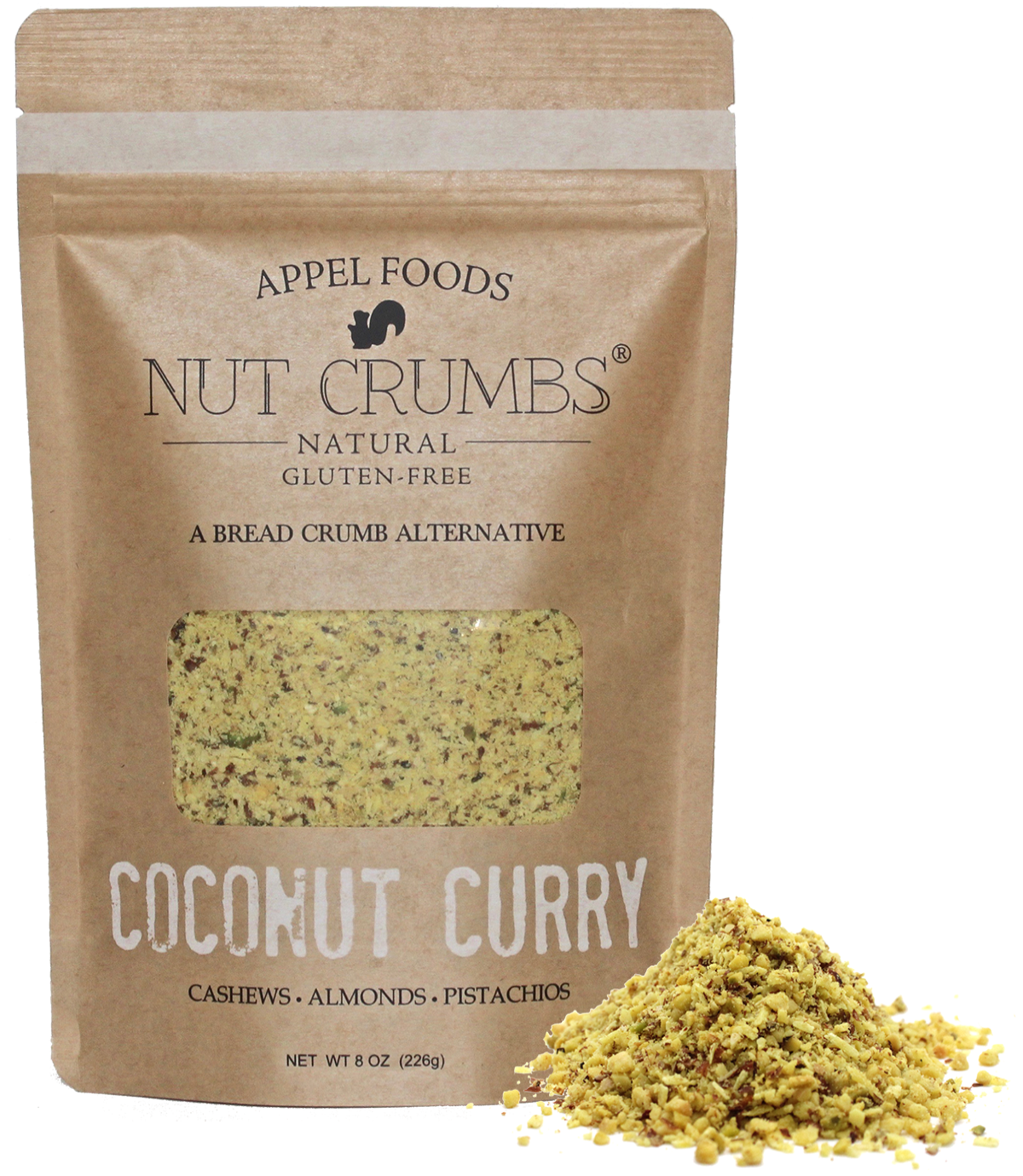 Coconut Curry Nut Crumbs