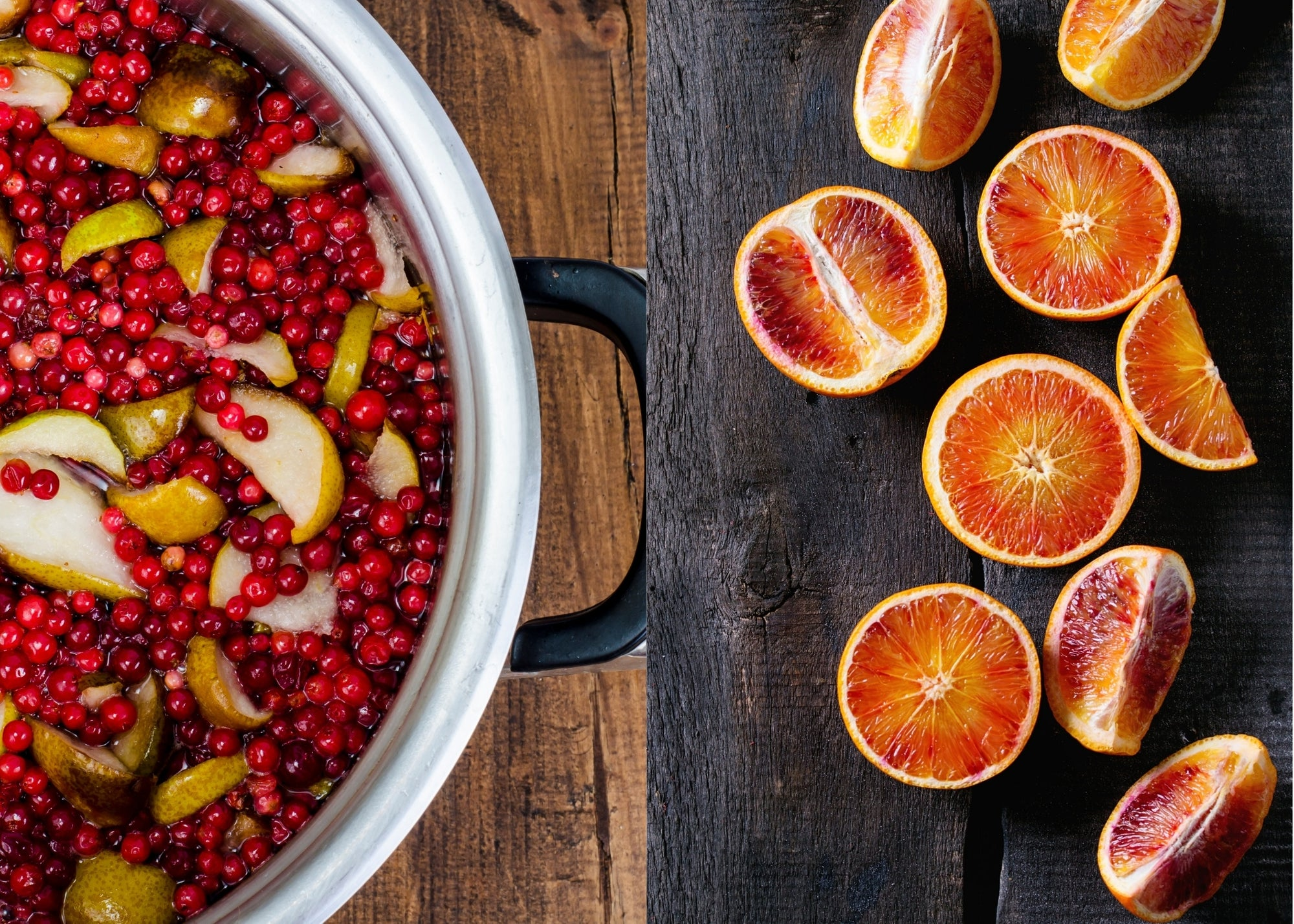 Blood Orange Olive Oil & Cranberry-Pear White Balsamic