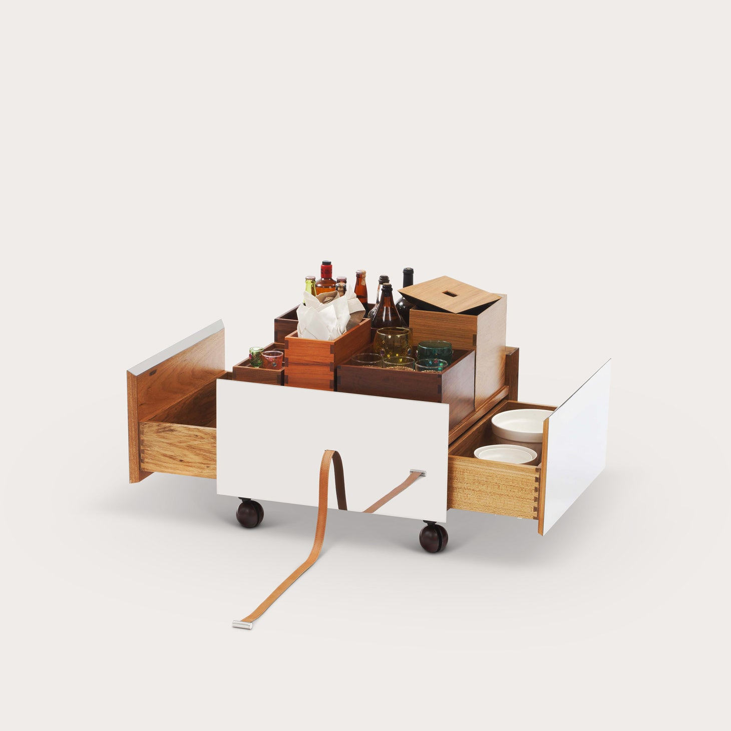 Carrinho Bar Toto Storage Isay Weinfeld Designer Furniture Sku: 003-220-10099