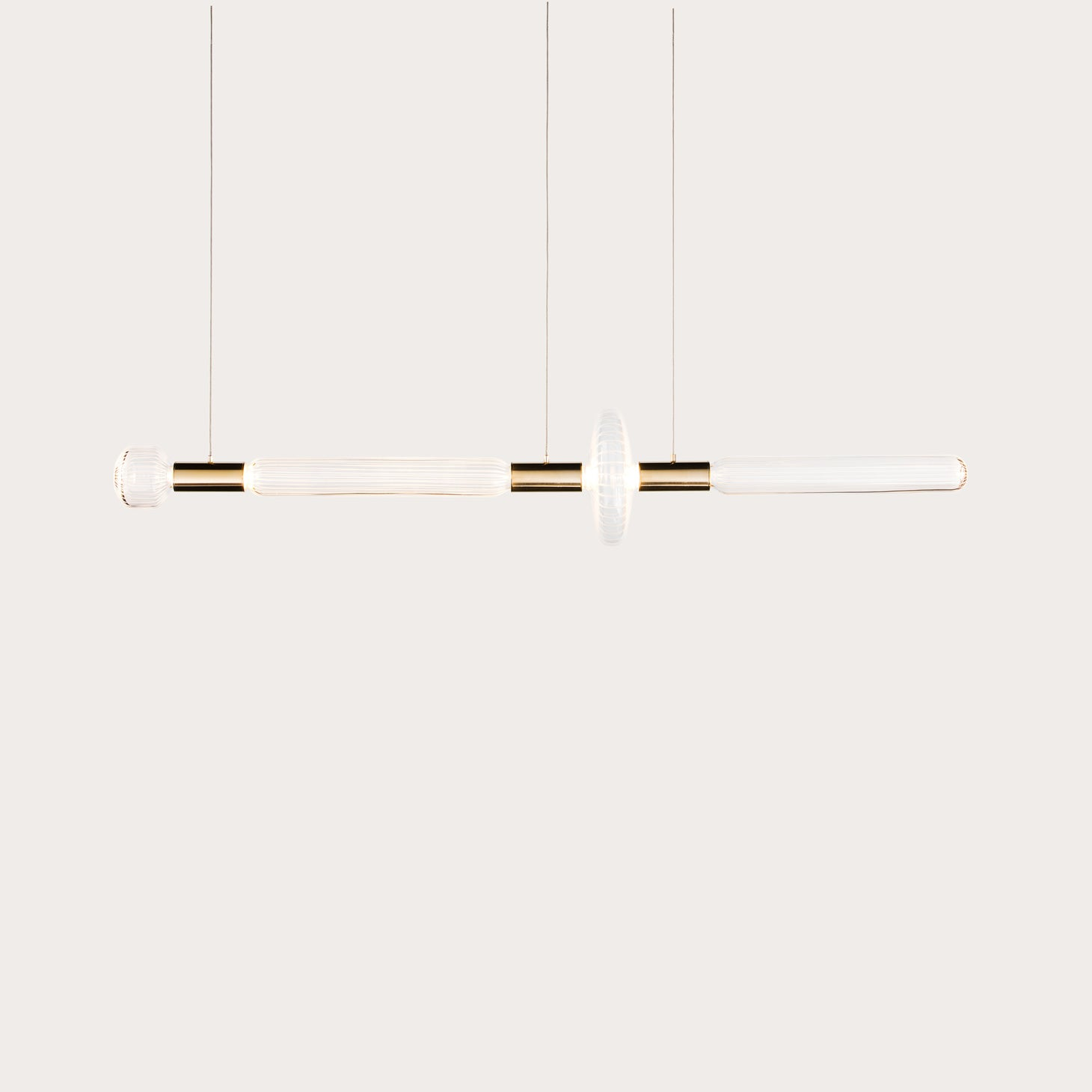 Cipher Horizontal Pendant S Lighting Yabu Pushelberg Designer Furniture Sku: 011-160-10000