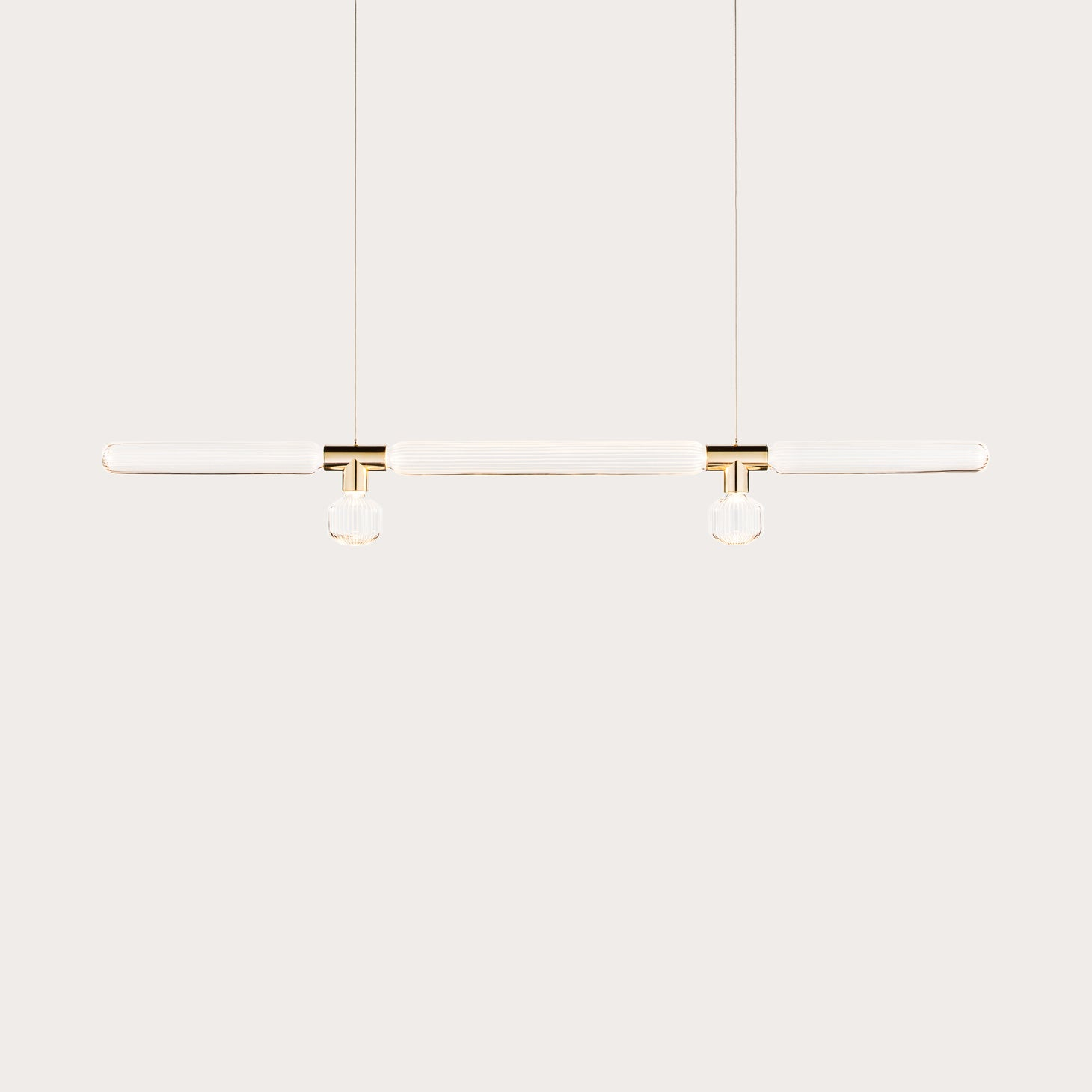 Cipher Horizontal Pendant L Lighting Yabu Pushelberg Designer Furniture Sku: 011-160-10001